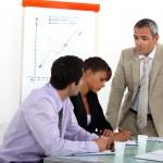Sales meeting — Stock Photo