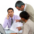 Meeting in the office — Stock Photo