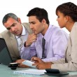 Business teamwork — Stock Photo #11896764
