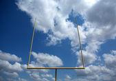 American Football Field Goal Posts — Stock Photo