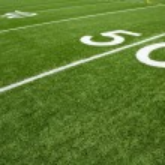 Football Field Yard Lines — Stock Photo #11924489