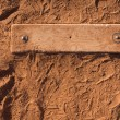 Stock Photo: Baseball Pitchers Mound