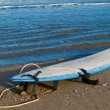 Waxed Surfboard — Stock Photo #12411493