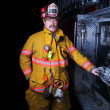 Firefighter - Zdjcie stockowe