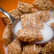 Cereal and Milk - Stock Photo