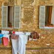 Italy Scenics, Clothesline — Stock Photo