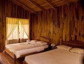 Tropical Bedroom — Stock Photo