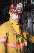 Feuerwehrmann — Stockfoto