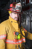 Firefighter — Fotografia Stock