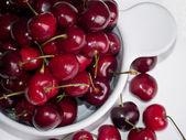 Cherry for dessert — Stock Photo
