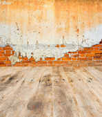 Brick Wall Background and texture — Stock Photo