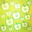Grunge apple abstract vintage background and pattern - Stok fotoğraf