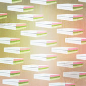 Grunge books abstract background and pattern — Stock Photo