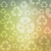Grunge Recycle abstract vintage background and pattern — Stock Photo