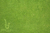 Sport splash on green grass texture and background — Стоковое фото