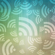 Wireless icon background and pattern - Stok fotoğraf