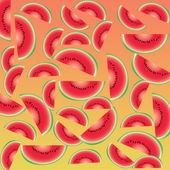 Watermelon abstract background and pattern — Stock Photo