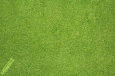 Pencil icon on green grass texture and background — Stock Photo