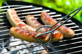 Grilled Sausage — Foto Stock