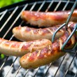 Grilled Sausage - Foto Stock