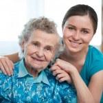 opieka domowa — Zdjęcie stockowe