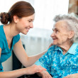 Stock Photo: Home care
