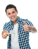 Drivers license — Stock Photo