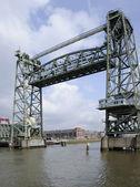 ロッテルダム デ hef 橋 — ストック写真