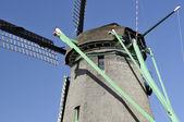 Mecanismo molino de viento de zaanse schans — Foto de Stock