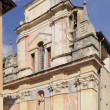 St antonio church pigna, liguria — Stock Photo