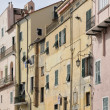 Old facades, imperia — Stock Photo