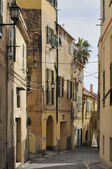 Street in city center, imperia — Stock Photo