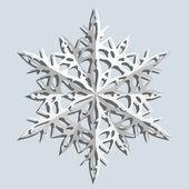 Copos de nieve. ilustración vectorial. — Vector de stock