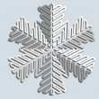 Snowflakes. Vector illustration. — Stock Vector #12088617