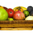 Frail with mixed fruits — Stock Photo #10750818