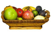 Frail with mixed fruits — Stock Photo