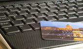 оплата онлайн — Стоковое фото