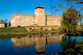 Kasteel van gyula stad in hongarije — Stockfoto