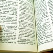 Stock Photo: Pocket dictionary