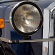 Stock Photo: Lights of an oldtimer