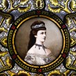 Foto Stock: Portrait of empress Elisabeth of Austria