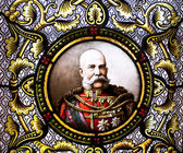 皇帝弗朗茨 · 约瑟夫 · 我. — 图库照片