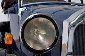 Front of an oldtimer — Stock Photo