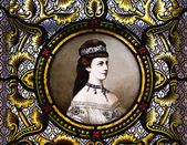 Retrato de la emperatriz elisabeth de austria — Foto de Stock