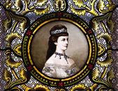 Portrét císařovny alžběty z rakouska — Stock fotografie
