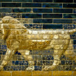A lion of the Ishtar Gate - Stock Photo