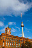 Red City Hall of Berlin — Stock Photo