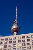 Television tower of Berlin — Stock Photo