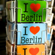 I Love cards of Berlin — Foto de Stock