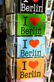 I Love cards of Berlin — Stock Photo